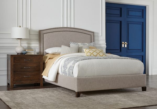 Amish Gabrielle Fabric Bed