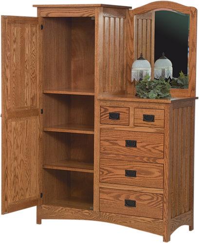Amish Schwartz Mission L-Dresser