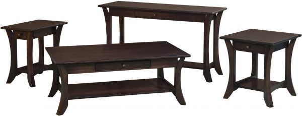 Amish Catalina Occasional Table Collection