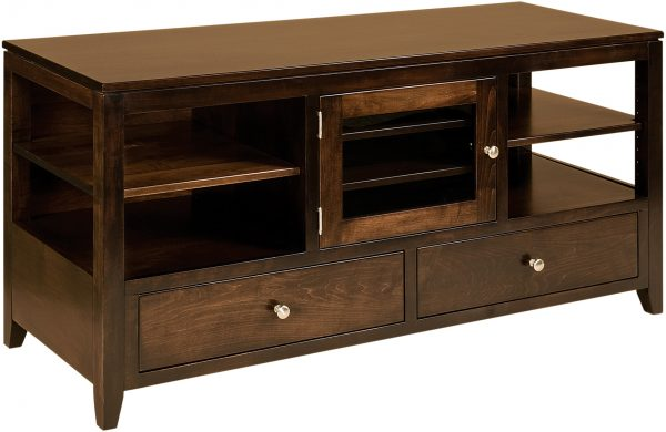 Amish Camden Large 59 Inch TV Cabinet