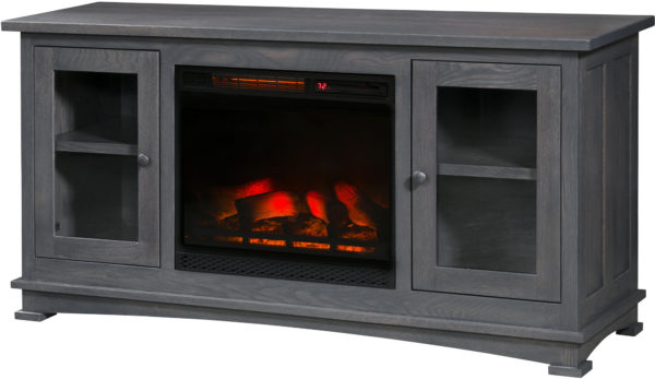 Amish Kenwood Fireplace TV Cabinet