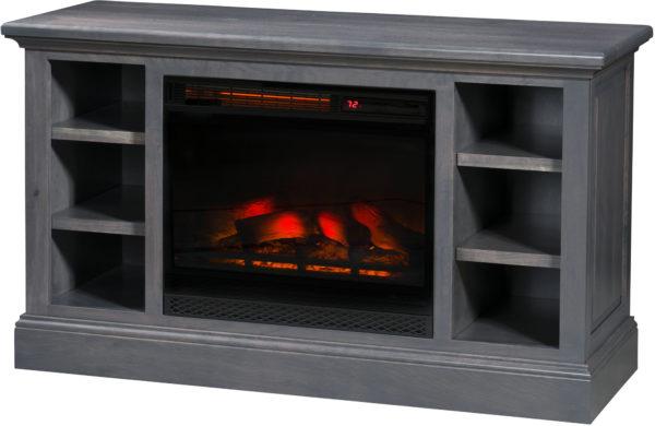 Amish Kincade Fireplace TV Cabinet