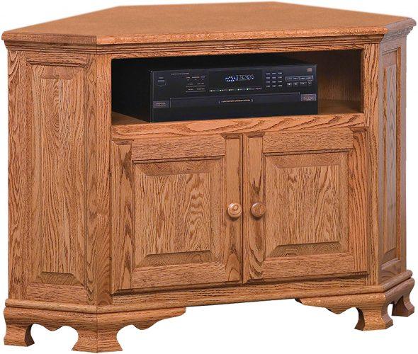 Amish Heritage Small Corner TV Cabinet