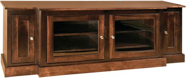 Amish Mission Wood Wide TV Stand