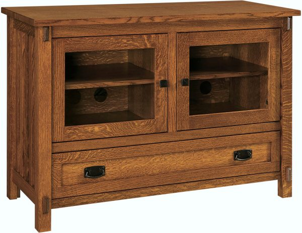 Amish Rio Mission Small TV Cabinet
