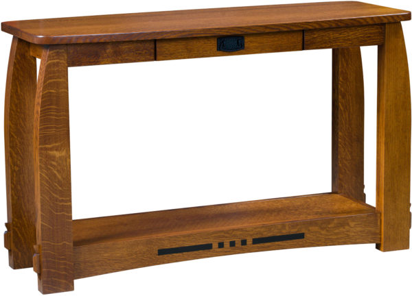 Amish Colebrook Open Sofa Table