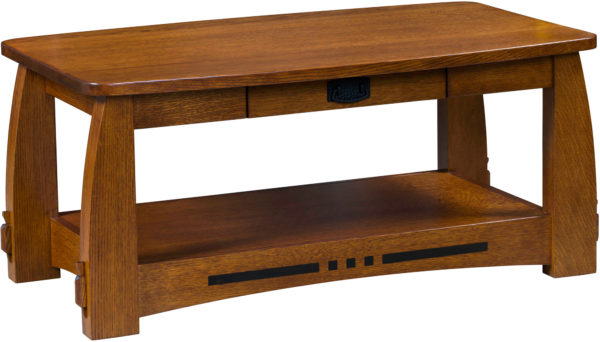 Amish Colebrook Open Coffee Table