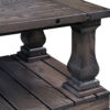 Amish Imperial Coffee Table Post Detail