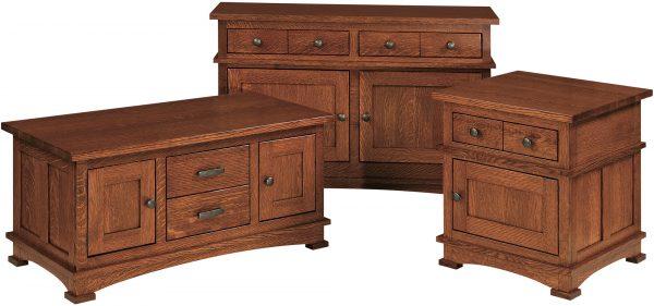 Amish Kenwood Occasional Table Set