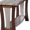 Amish Legacy Live Edge Sofa Table Side View