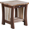 Amish Legacy Live Edge End Table