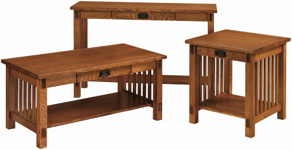 Amish Rio Mission Occasional Table Set