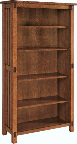 Amish Rio Mission Tall Bookcase
