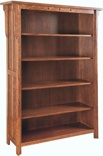 Amish Straight Royal Mission Large Bookcase