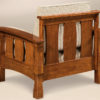 Amish Balboa Slatted Chair Back