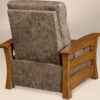 Amish Barrington Chair Recliner Back View