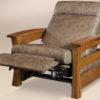Amish Barrington Chair Fully Reclined