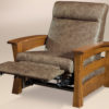Amish Barrington Chair Partly Reclined