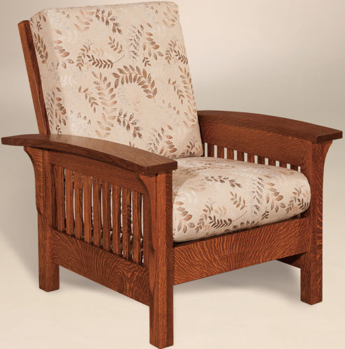 Amish Empire Slatted Chair