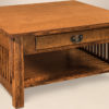 Amish Cubic Square Coffee Table