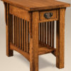 Amish Cubic Small End Table