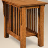 Amish Slat End Table
