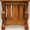 Amish Balboa End Table Side Detail