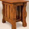 Amish Balboa Narrow End Table