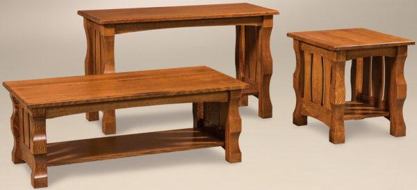 Amish Balboa Occasional Table Set