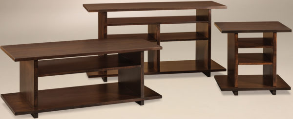 Amish Monterey Occasional Table Set