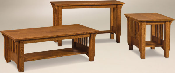Amish Pioneer Occasional Table Set