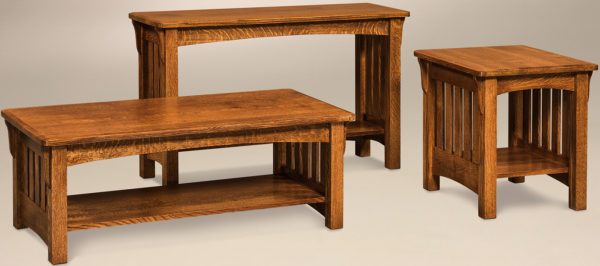 Amish Shelby Occasional Table Set