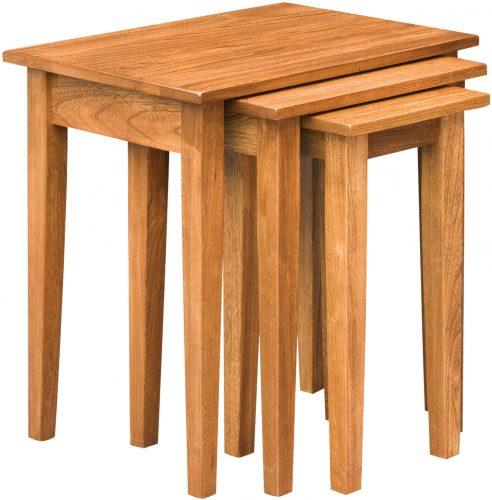 Amish Shaker Nesting Table Set
