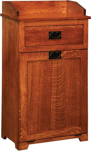 Amish Mission Top Drawer Tilt Out Trash Bin