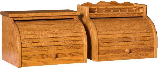 Amish Roll Top Bread Box