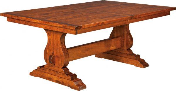 Amish Austin Trestle Dining Table