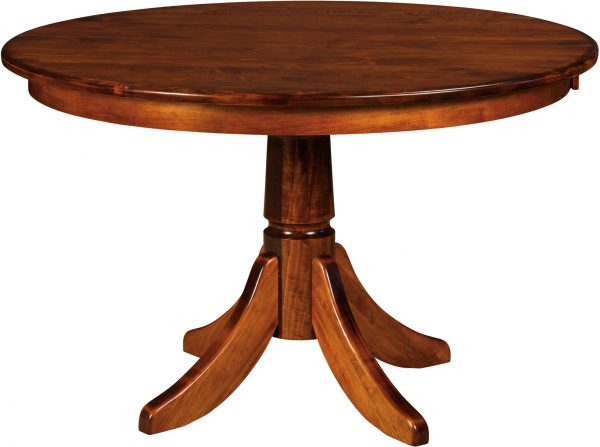 Amish Baytown Single Pedestal Dining Table