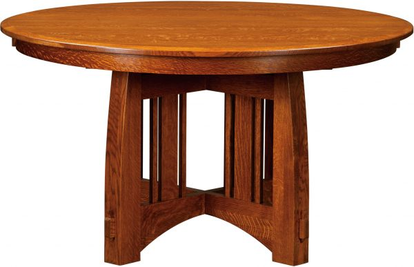 Amish Brookville Round Dining Table
