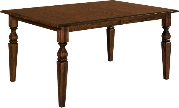 Amish Fremont Leg Dining Room Table