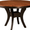 Amish Imperial Single Pedestal Dining Table