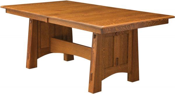 Amish McCoy Trestle Dining Table