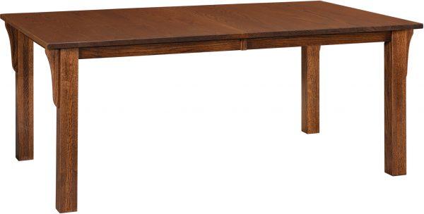Amish Mission Leg Dining Room Table