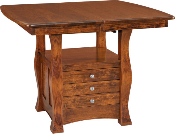 Amish Reno Cabinet Dining Table