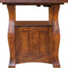 Amish Reno Cabinet Table Side Close-Up