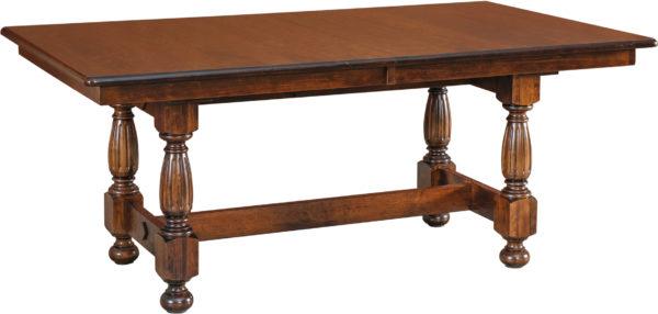 Amish Richland Trestle Dining Table
