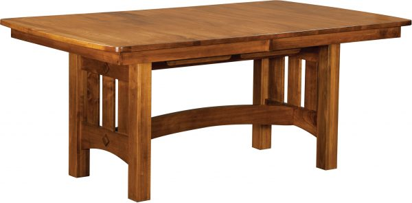 Amish Vancouver Trestle Dining Table