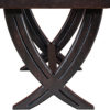 Amish Ventura Trestle Table Detail