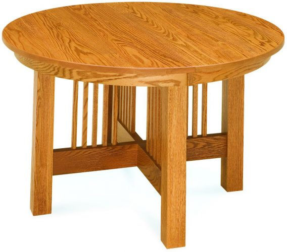 Amish Craftsman Mission Dining Table