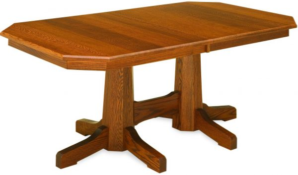 Amish Pinnacle Mission Dining Table