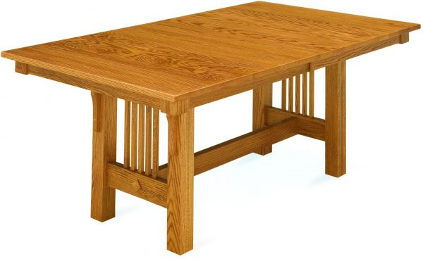 Amish Trestle Mission Style Table